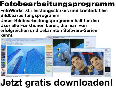 Foto bearbeiten Software